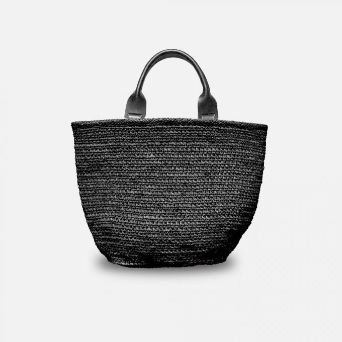 Sac en raphia, le sac Oni de Sans Arcidet Paris