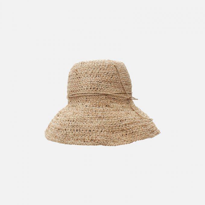 chapeau raphia Fany